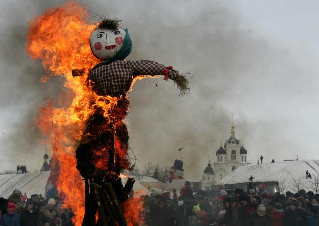 Ecuador - Burn A Scarecrow