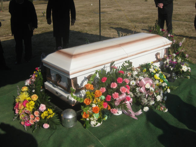 The family paid more than $3,500 to buy a cadaver that could be buried with their son.