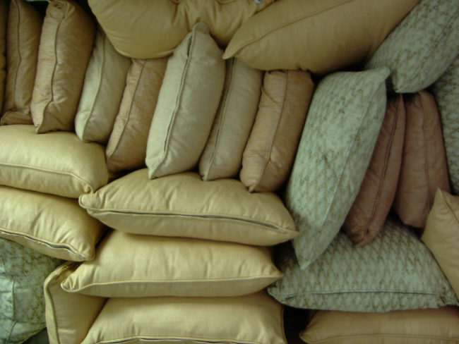 Pillows can lose their shape and cause neck injuries after 2-3 years of use.