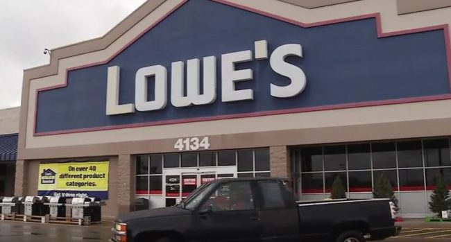 When Luthy showed up for a job interview at a Lowe's in Abilene, Texas, he wasn't sure how the company would react to his situation. Would they be willing to accept an employee with a service dog?