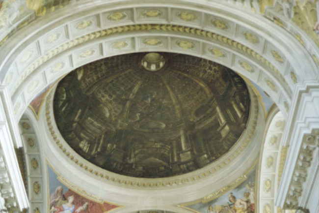 Pozzo was praised for his work that allowed the church to honor Saint Ignazio as was initially intended.