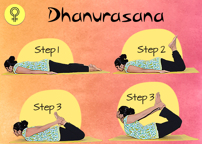 Dhanurasana To Cure Irregular Periods and Menstrual Pain