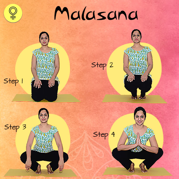 Malasana To Cure Irregular Periods and Menstrual Pain