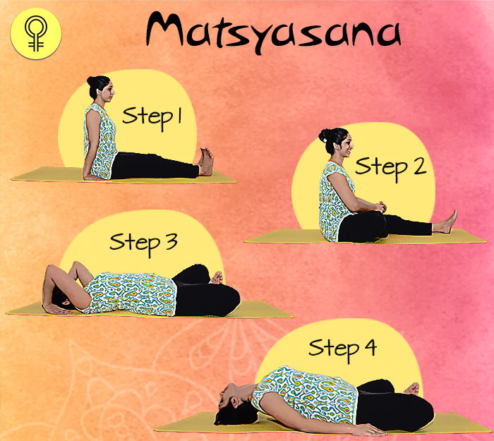 Matsyasana To Cure Irregular Periods and Menstrual Pain