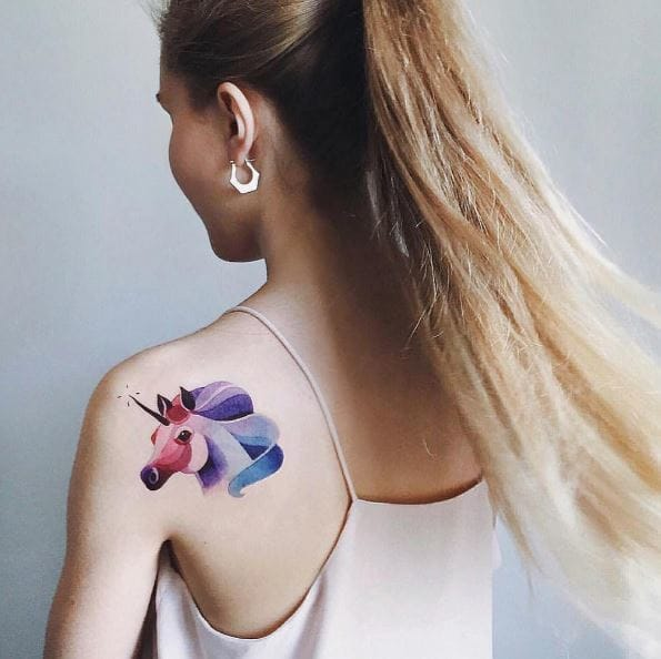 16 Watercolor Tattoos Seriously Cool