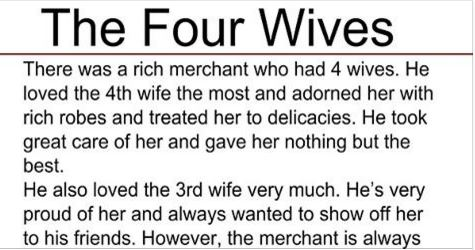 He gave his wife to other men