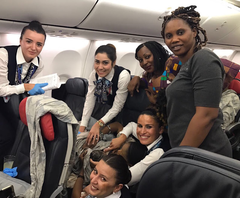Woman Gives Birth 42,000 Feet on Turkish Airlines Flight