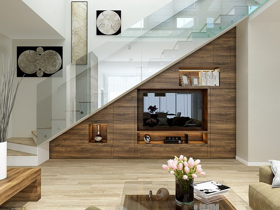 Under Staircase Room Ideas