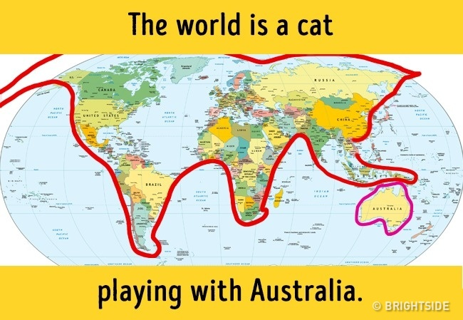 18 Amazing Maps of the World They Didnt Show Us at School Funny